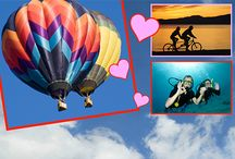 ♥ Valentine's Inspiration! ♥ / Send your sweetheart on an amazing adventure…or give them an experience they've always dreamed about! From race car driving, hot air balloon rides, spa days and food tours, Cloud 9 Living is sure to put a smile on their face :) / by Cloud 9 Living Experience Gifts