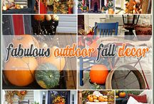Fabulous Outdoor Fall Decor / by Andrea Cammarata