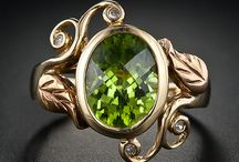 I want some peridot jewelry / by eve-marie