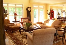 Living/family room / by Judy Clear