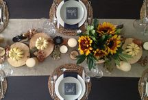 Autumn table / by Mary Morris-Deery