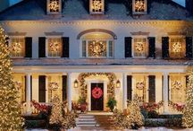 Christmas: Exterior lighting / by Betty Jo Shrout