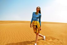 Autumn/Winter 2012 / Inspired by the bedouin tribes of the Middle East and North Africa, this collection was shot both in the Hatta Desert outside Dubai and Shoreditch. / by Sanna Naapuri