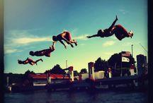Pier fun! / Gordy boys & girls living the life! / by Gordy's Marine