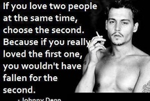 Johnny Depp Quotes / by Search Quotes