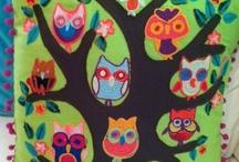 OWLS!!! / owls, owl baby clothes, owl decor, owl pillows, owl dishcloth, owl lamp, Chi O, candy owls, owl food, owl clothes, owl shirts, owl bowls, owl pictures,  / by Jillian Dodd