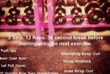 My Workouts / by Jenna Vozzella