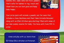 Ella's Kitchen loves the USA / little kiddos / by Mariza Says
