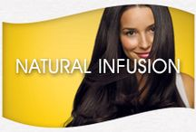 Suave Pro Natural Infusion / Suave is helping women everywhere live beautifully with the introduction of new Suave Professionals Natural Infusion, three salon-quality collections that help infuse goodness into hair. / by Suave Beauty