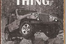 Jeep Wranglers / Willys, Cj, Yj, Tj, Jk, JEEPs! / by Brandon Cartee