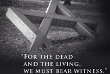 Holocaust  - NEVER FORGET / The Holocaust is an integral part of Jewish history. It's painful memory will never be forgotten. / by Jewish United Fund of Chicago