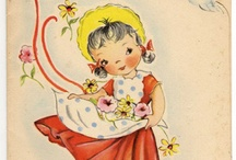 Vintage Card 1 / by Charlotte Kempe