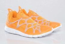 Orange Sneakers / by Street Moda