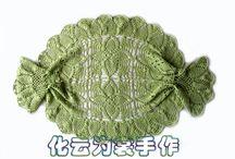Green Crochet blouses, tunicas, sweter, top ,vest, etc / Blusas, tunicas, top , sweter,tops Crochet verde / by Martha Salazar