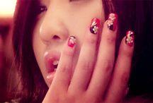 nails nails and more nails <3 / by dorkii Tang