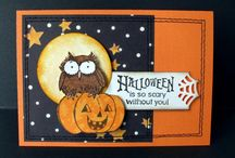 HALLOWEEN II CARDS / by THERESE SPRINGSTON