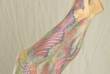Art - Body / Body art including body paint, tatoos, etc. / by David James