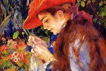 Artist: Renoir, Pierre-Auguste (1841-1919) / by Pamela Buresh