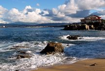 Monterey, CA / Visit Monterey and see the amazing Monterey Bay Aquarium, as well as Fisherman's Wharf and Cannery Row, made famous by Nobel Prize-winning Salinas writer John Steinbeck.  http://www.seemonterey.com/monterey-california / by SeeMonterey