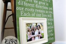 Gift Ideas / Weddings, babies, house warming etc / by Audrey Knowlton