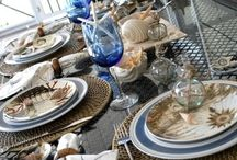Tablesettings, Centerpieces, Table Linens and Tableware / by Debi Vitale