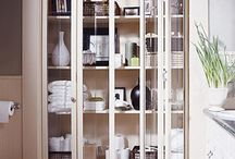 BATH Storage ideas / by Jessi B Design