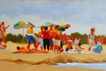 a day at the shore / by Donna Hyland