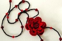 accesorios de crochet / by Mónica Vivanco