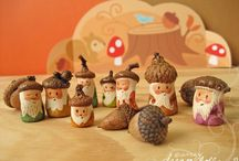 acorns & pinecones / by Natalia