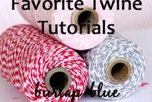 Twine tutorials / by Debbie Decelles