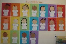 Kindergarten Beginning of the year activities / by Megan Skogmo