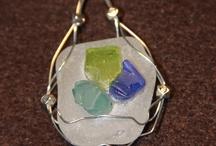 seaglass jewelery / by Amber Herring