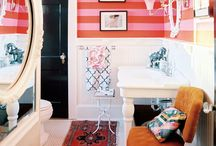 home: colors + patterns + mix / by Gwen Hefner