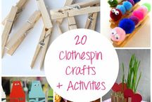 Kid crafts/activities / by Heather Lybrand