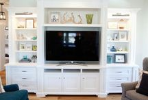 Side Board's and table top's / layering decor for those side & sofa tables / by Kathy Soffe