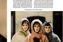 Vintage Magazine Glamour / Found and pinned from fashionable magazines and books of the golden era of glam / by Glamour Daze