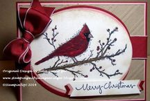 Christmas & Cards SU / Stampin Up +/plus / by Linda Bell