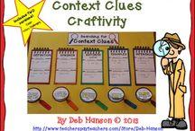 Context clues / by Sandra Cruz