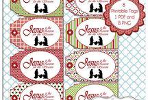 Digital Christmas & Printables / Digital Christmas Clip Art, Scrapbopoking, and Printabes / by Robin Sampson