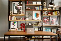 Office Space / Inspirational Interior Design For Your Office Space / by Yester Home