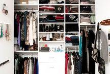 closet ideas / by Cristin Pregent