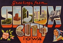City-Large Letter Postcard / by Dorothy M