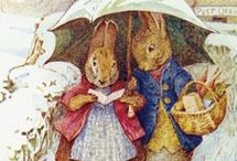 Beatrix Potter / I love Beatrix Potter's illustrations and books. She was an author , illustrator . and most of all  she loved nature! and animals. / by Deborah Robbins