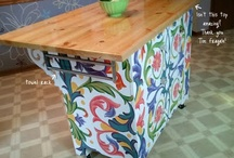 Furniture (Design, DIY Projects, Refinishing, Repurposing & Upcycling Ideas) / This board has images of creative furniture designs I would love to incorporate in my home decor, plus DIY techniques, tutorials and advice for how to upcycle, repurpose, refinish and refurbish old or second-hand household furnishings.  / by Christina Mendoza