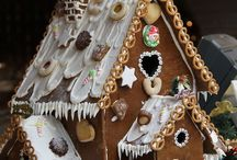 Gingerbread houses! / Too pretty to eat! / by Judi Bennett