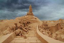 art - sand art / by Yelena Shabrova