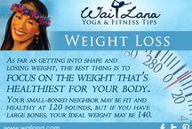 Weight Loss / by Wai Lana