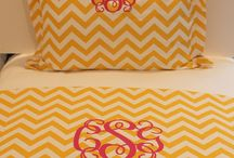 Colorful Teen Dorm Bedding / Looking for cheerful bedding to lift your spirits!  Brighten up your day with custom bedding for dorm, home, and apartment stylish living. / by Decor 2 Ur Door
