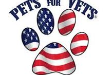 Veterans and dogs / Veterans and dogs / by Jones Chews