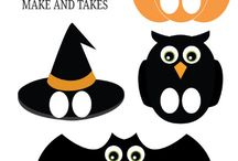 Kid's Crafts & Party Ideas / Party ideas. Crafts for kids. Halloween or any event! / by Tricia Sibley